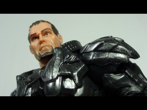 Man of Steel Movie Masters General Zod with Kryptonian Armor Figure Review