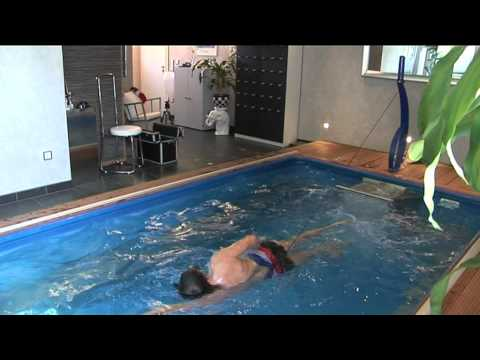 pooltrainer alternative zur gegenstromanlage youtube. Black Bedroom Furniture Sets. Home Design Ideas