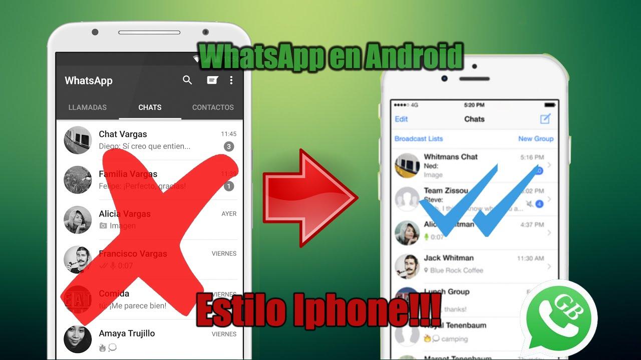 gb whatsapp para iphone