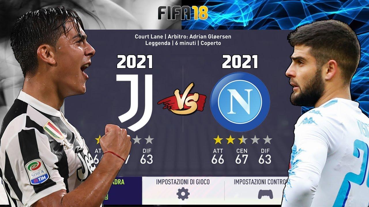 La JUVENTUS nel 2021 VS Il NAPOLI nel 2021 ! Partite Epiche !