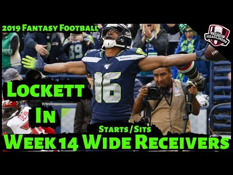 2019 Fantasy Football Advice - Week 14 Wide Receivers - Start Or Sit? Every Match Up