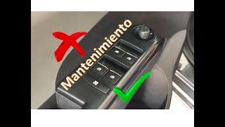 Mantenimiento a control ventanas eléctricas Chevrolet Sonic Cruze Tracker