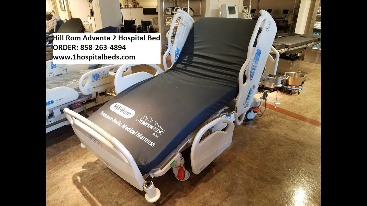 Hill Rom Advanta 2 Hospital Bed   YouTube