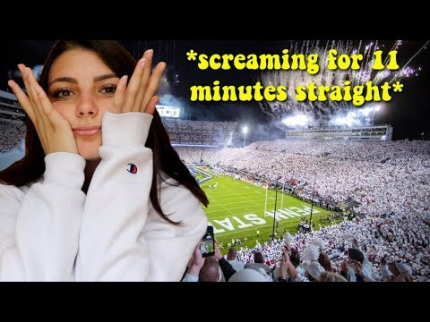 college game day vlog from the perspective of a football psycho