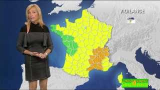 Repeat youtube video Fabienne Amiach sexy dans une robe moulante