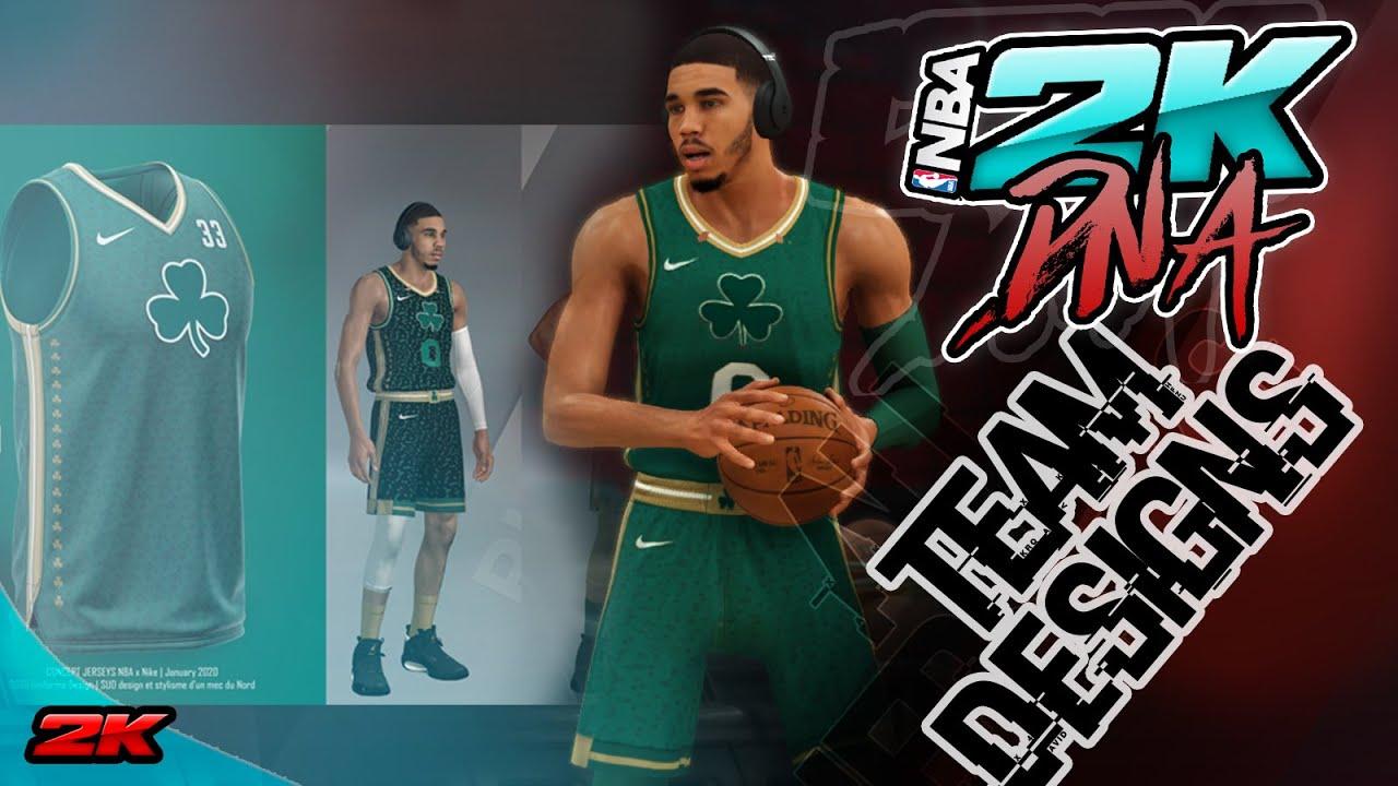 Boston Celtics Concept Rebrand Redesign Nba 2k20 Ps4 Xbox And Pc Youtube