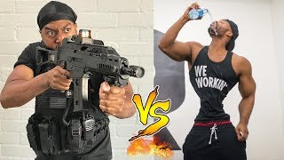 King Bach VS Marlon Webb Instagram Videos | Who is the Winner?