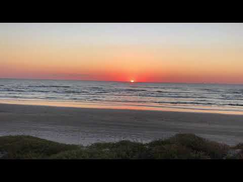 Sunrise at Gulf Waters, Port Arkansas, TX
