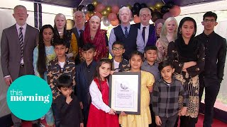 Meet The World's Biggest Albino Family: 'We Finally Feel Comfortable' | This Morning