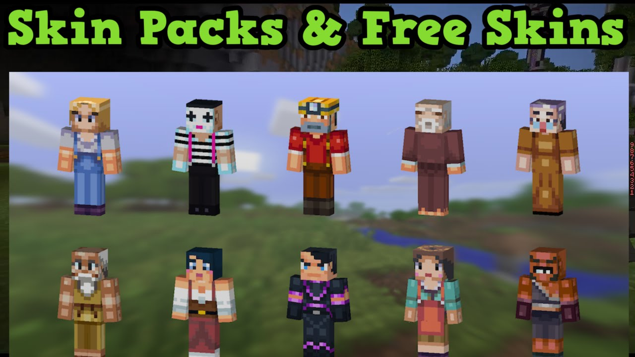 Minecraft Pocket Edition Skin Packs FREE SKINS For Android - Skins para minecraft pe pc