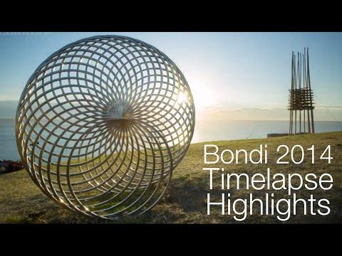 Bondi 2014 Sculpture by the Sea Timelapse Highlights