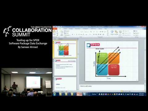 Collaboration Summit 2013 - Tooling Up for SPDX Software Package Data Exchange