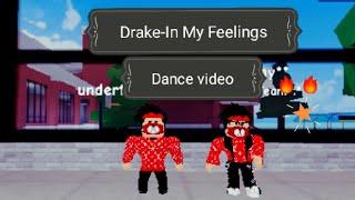 Drake-In I miei sentimenti il video della danza roblox ♡