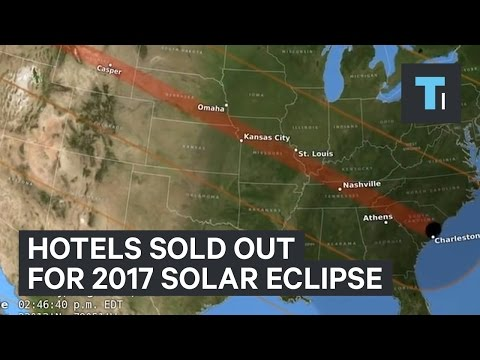 Hotels sold out for 2017 solar eclipse