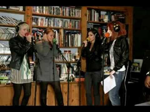 Girls Aloud - The Promise [Radio 1 Live Lounge - 25.09.08]