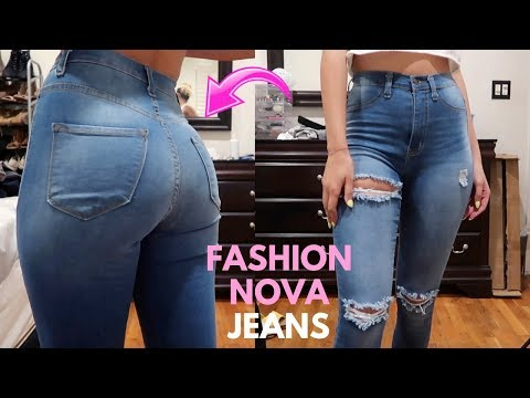 FASHION NOVA JEANS TRY ON HAUL | BEST JEANS TO MAKE YOUR BUTT LOOK GOOD