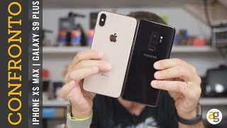 CONFRONTO IPHONE Xs Max contro GALAXY S9 plus