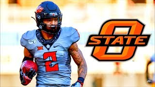 Most Explosive WR in the Big XII || Oklahoma State WR Tylan Wallace 2019 Midseason Highlights ᴴᴰ
