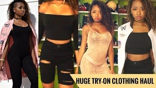 HUGE BACK TO SCHOOL TRY-ON CLOTHING HAUL