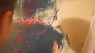 Идеальная реакция мамы на разрисованную стену. Юный художник
