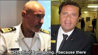 Telephone call between Costa Concordia Captain and Italian Coast Guard (ENGLISH SUB)