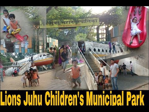 Juhu Garden &Lions Juhu Children's Municipal Park &tourist Place In Mumbai