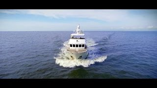 "Bering 65 ""Serge"" - Steel expedition yacht - boat tour with Jeff Merrill"