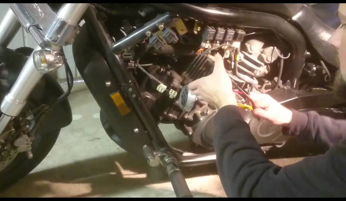 Hyosung Gv650 How To Replace The Regulator Rectifier Aftermarket Gv250 Wiring Diagram Youtube Premium