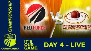 🔴LIVE T&T vs Leeward Islands - Day 4 | West Indies Championship | Sunday 19th January 2020