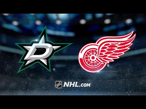 Spezza scores twice as Stars double up Red Wings, 4-2