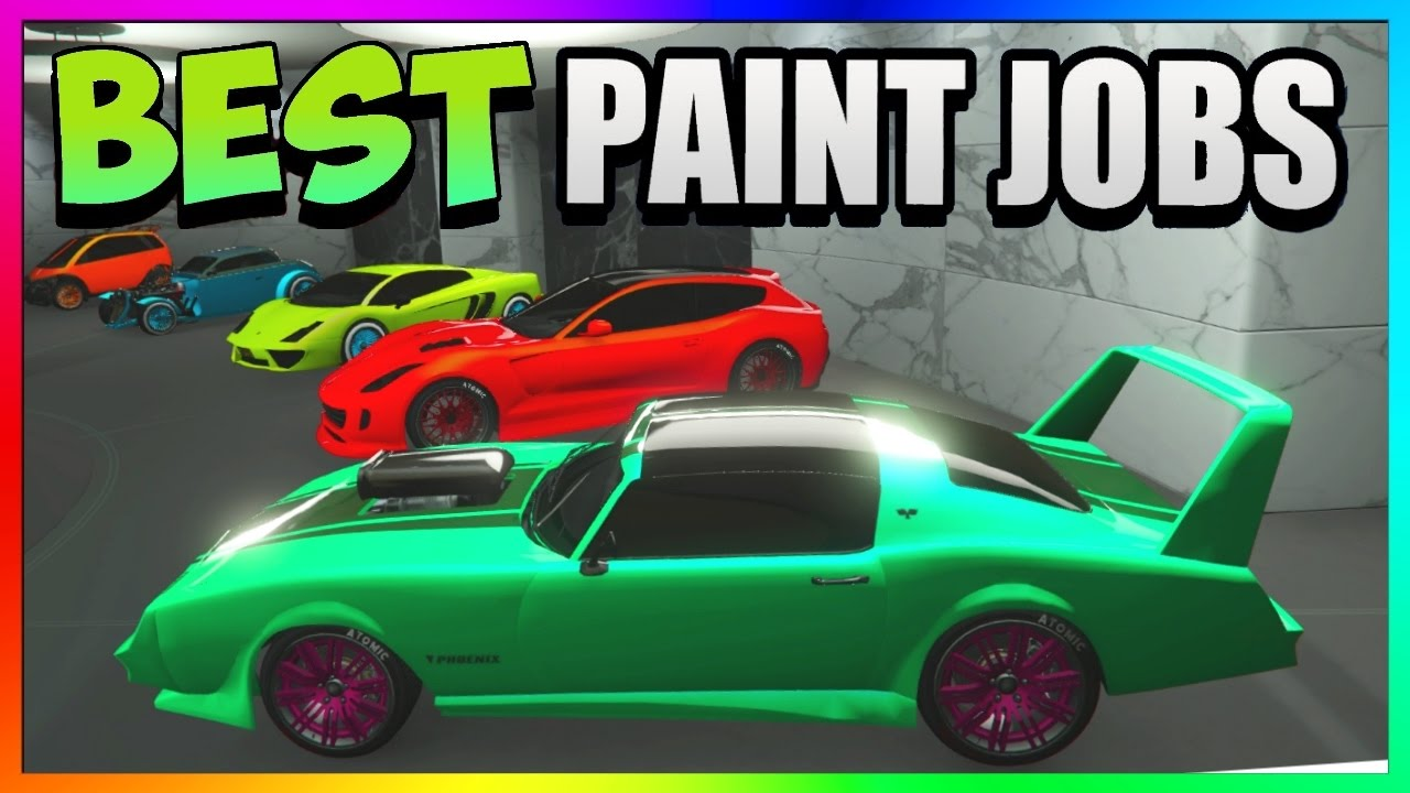 Gta 5 top 5 best paint jobs sexy car color schemes for Best car paint