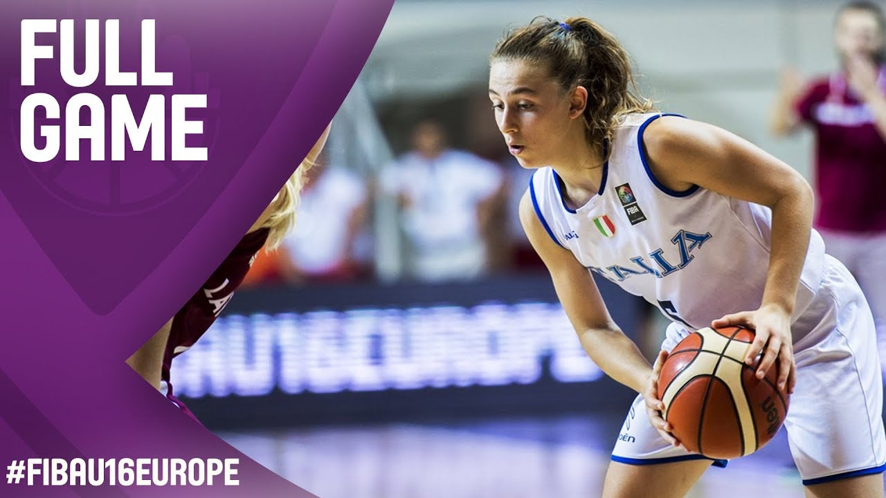 Re-watch Italy v Latvia - 3rd Place