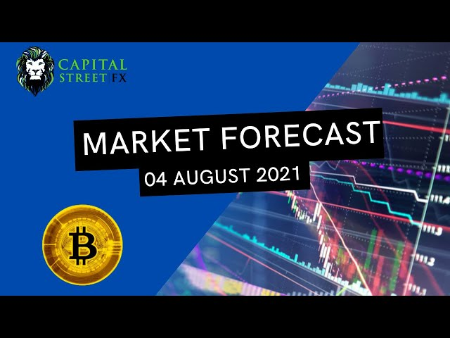 Bitcoin Technical Analysis & BTC Trade Suggestions By Capital Street FX - August 04, 2021
