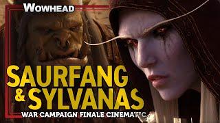 War Campaign Finale Cinematic - Saurfang and Sylvanas Reckoning