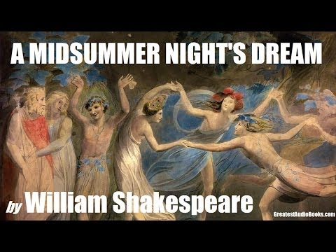 A MIDSUMMER NIGHT'S DREAM - FULL AudioBook by William Shakespeare | Greatest Audio Books V3