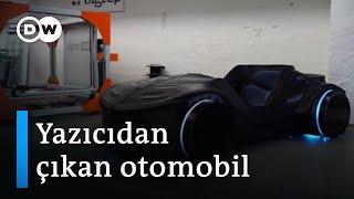 Almanlar üç boyutlu yazıcı ile ilk otomobili üretti - DW Türkçe