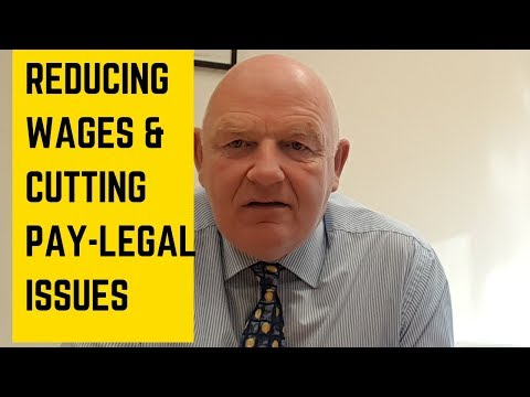 Reducing Wages | Cutting Employees Pay | Employment Rights Ireland
