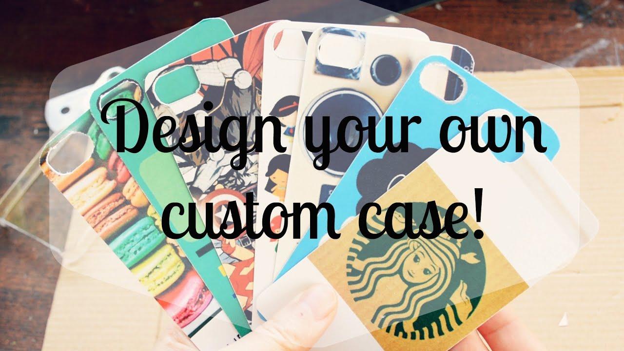 DIY Design Custom IPhone Cases