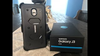 Samsung Galaxy J3 2018 / Amp Prime 3 / Express Prime 3 / J3 Star / J3 Achieve [Aegis] Holster Case