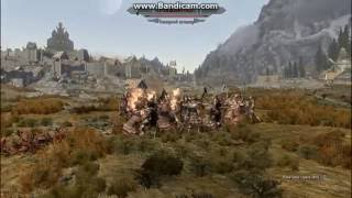 Skyrim - Битва: Талмор vs Имперцев