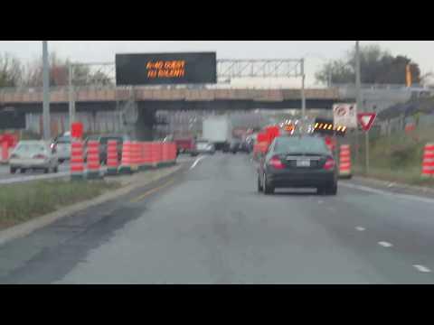 Autoroute 15, Laval, Montreal, Quebec, Canada