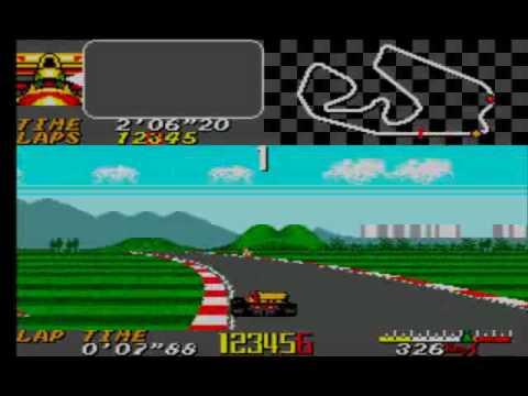 Ayrton Senna S Super Monaco Gp 2 Sega Master System 2 Retro