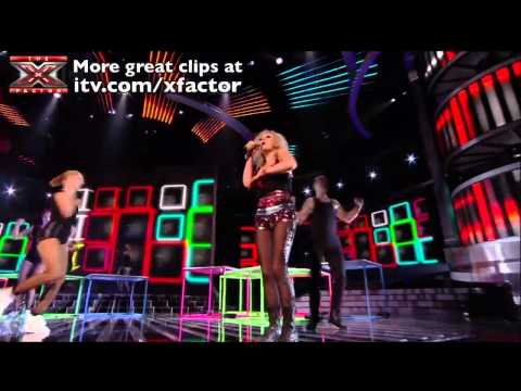 Push It Real Good with Rhythmix - The X Factor 2011 Live Show 3 - itv.com/xfactor