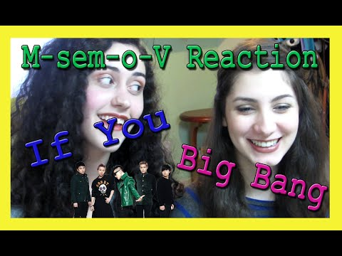M-sem-o-V Reaction -  Big Bang 'If You' [PT/BR]