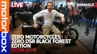 Zero Motorcycles Zero DSR Black Forest Edition | Ecco la DUAL SPORT top di gamma di ZERO MOTORCYCLES