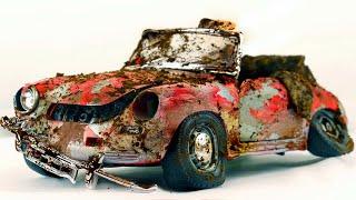 Restoration Abandoned Porsche 356 B | Repair Old Model Car