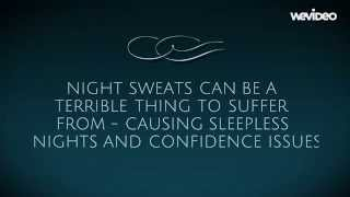 Men Night Sweats and general night sweats - this video can help with your night sweat problems