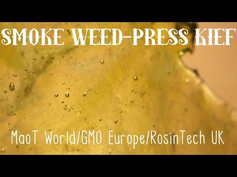 FIRE KIEF ROSIN From RosinTech UK!!!