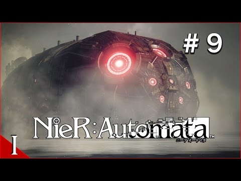 Nier Automata Episode 9 - This thing's HUGE!!