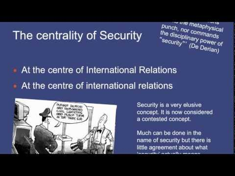 PL7505 International Security Introduction